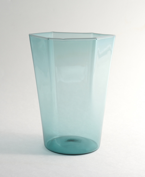 Elia Toffolo/Drinking Glass/Light Blue