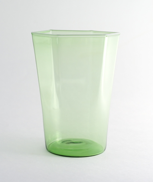 Elia Toffolo/Drinking Glass/Green