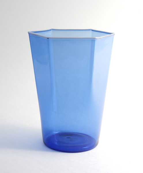 Elia Toffolo/Drinking Glass/Blue