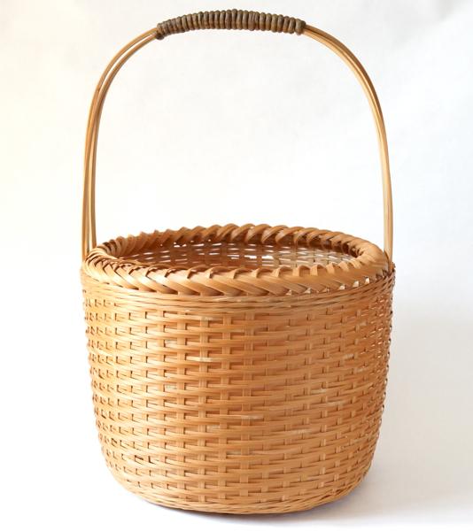日本製 竹バスケット