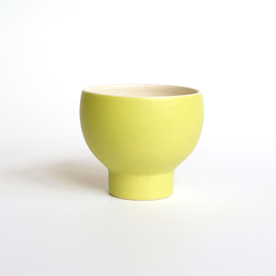 Pol Chambost/Cup/Yellow x White