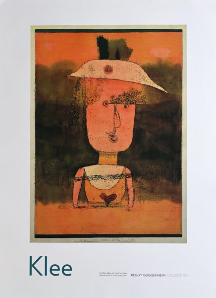 Paul Klee/Portrait of Mrs P. in the South