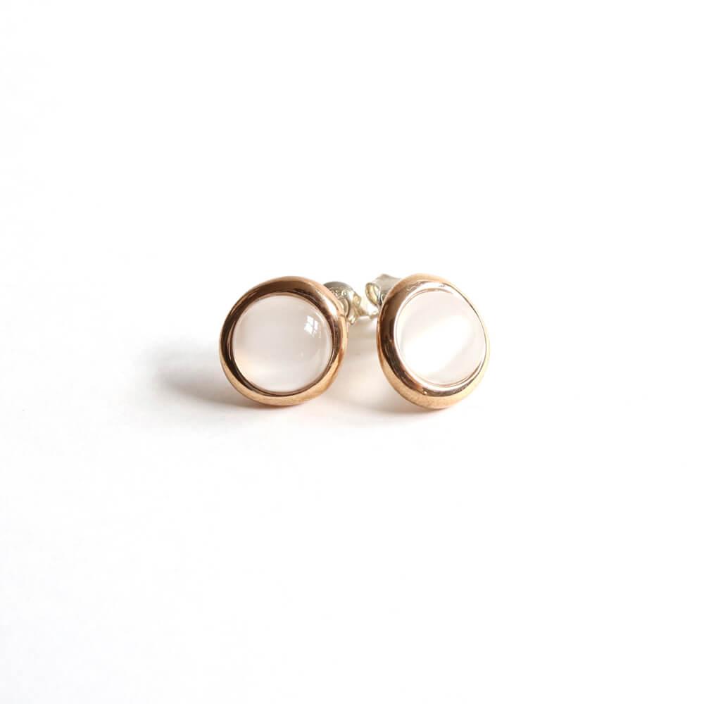 Monica Castiglioni / TONDI 17 PIERCE (Bronze+Moonstone)