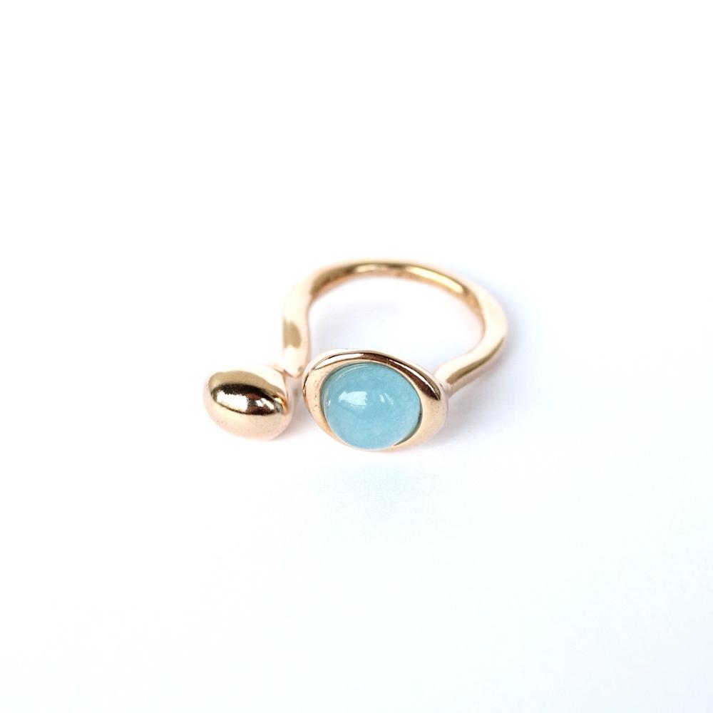 Monica Castiglioni / PISTILLI02 (Bronze+Blue Giada)