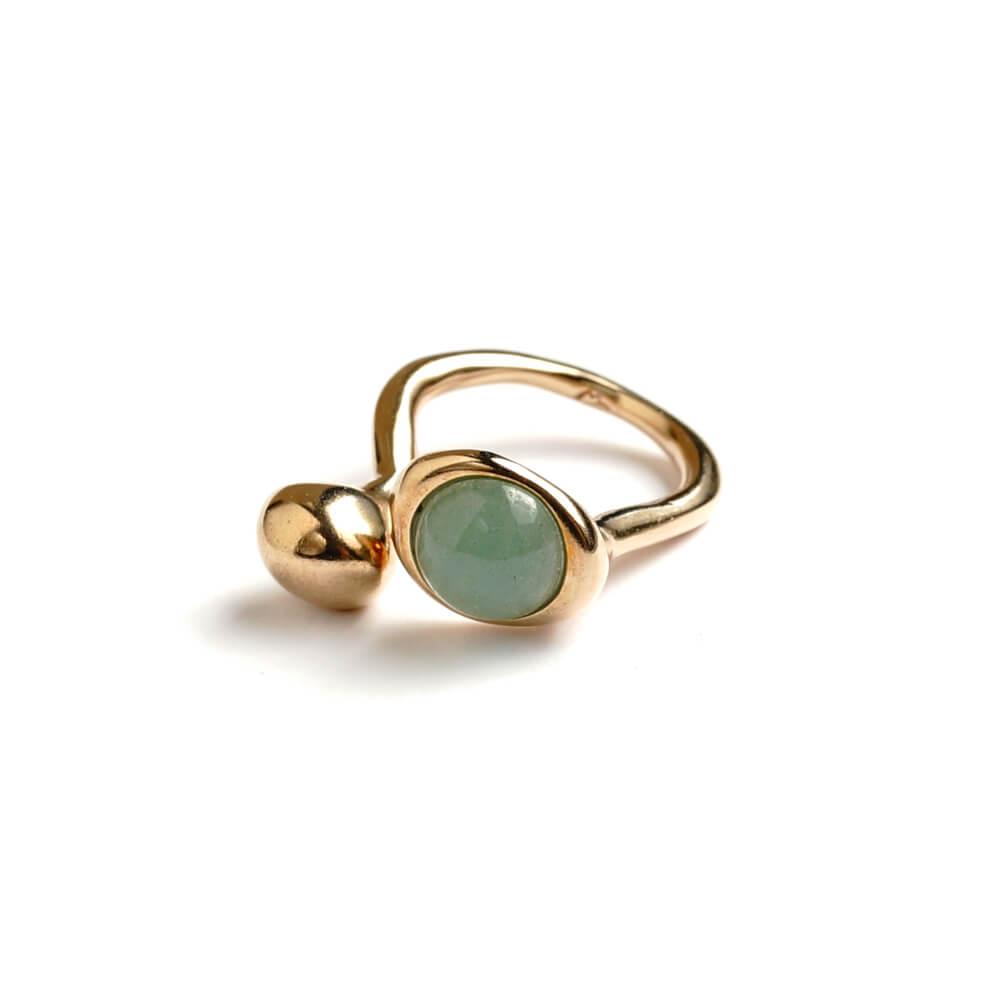 Monica Castiglioni / PISTILLI02 (Bronze+Jade)