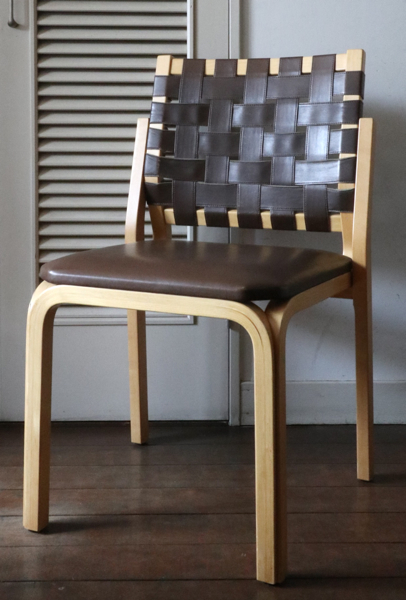 Alvar Aalto/Chair 612/Brown
