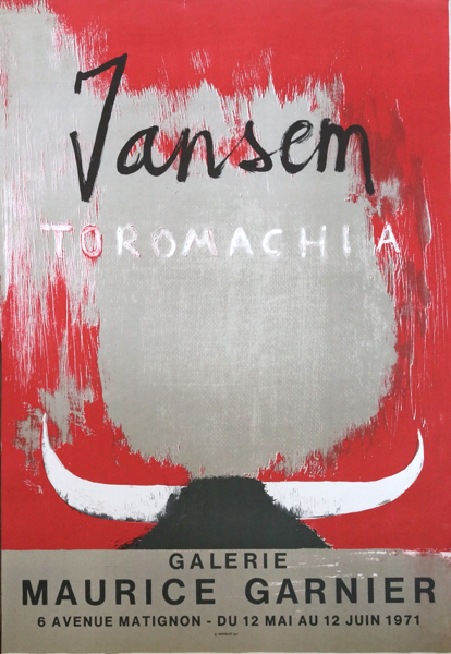 Jean Jansem/ Toromachia