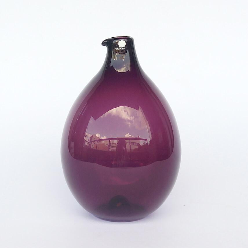 Timo Sarpaneva/ i-401/Bird Bottle (round) Purple