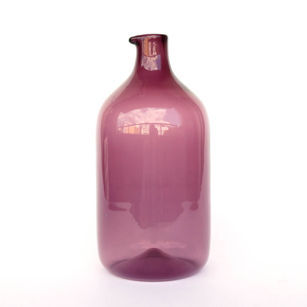 Timo Sarpaneva/ i-400/Bird Bottle (straight) Purple