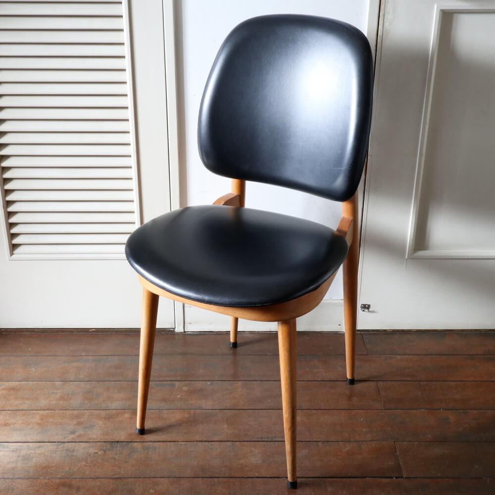 Pierre Guariche/ Dining Chair/Black