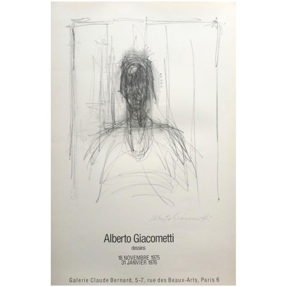 Alberto Giacometti / dessins 1975