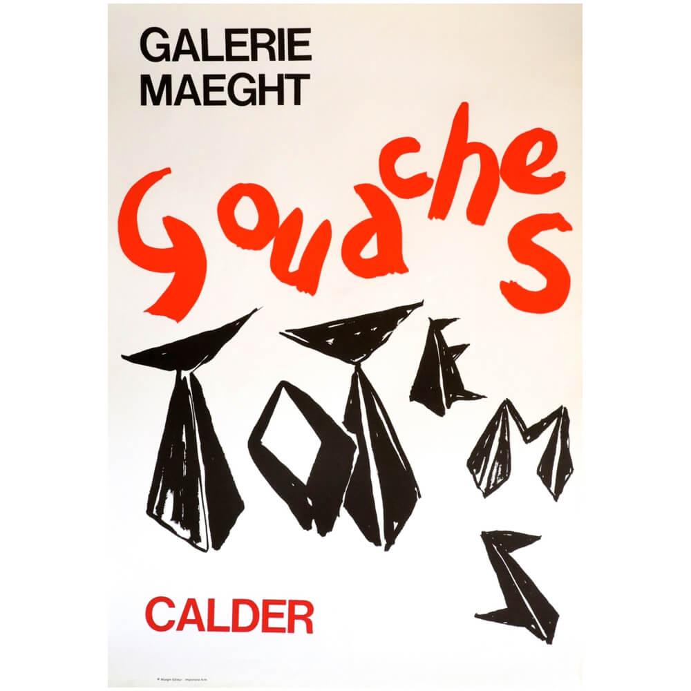 Alexander Calder / Gouaches