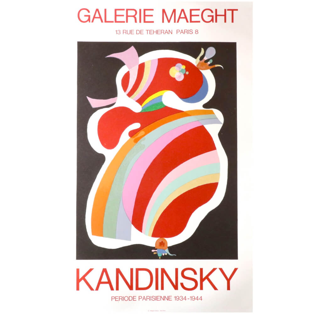 Wassily Kandinsky /PERIODE PARISIENNE 1934-1944