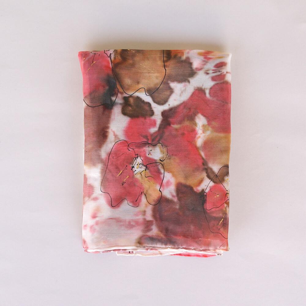 Melanie Decourcey/Silk Scarves/Rectangle �