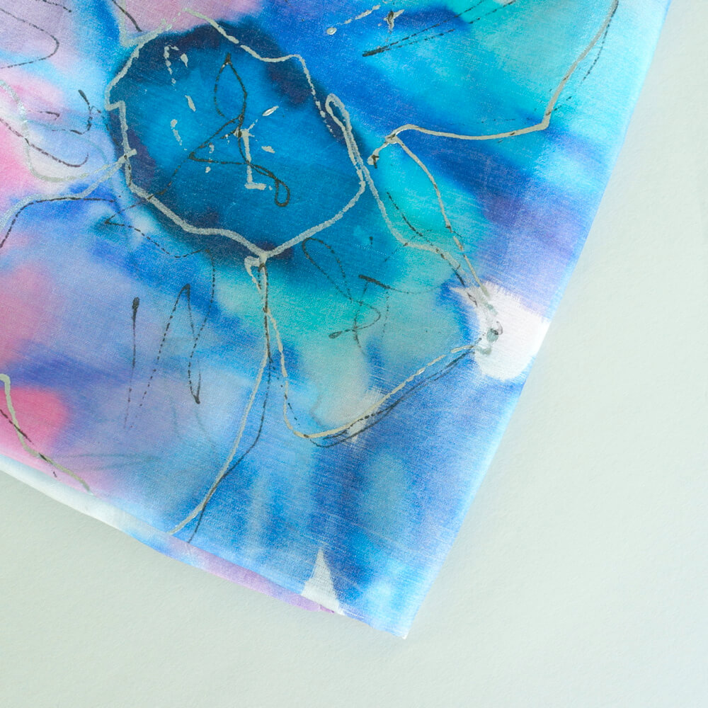 Melanie Decourcey/Silk Scarves/Square �