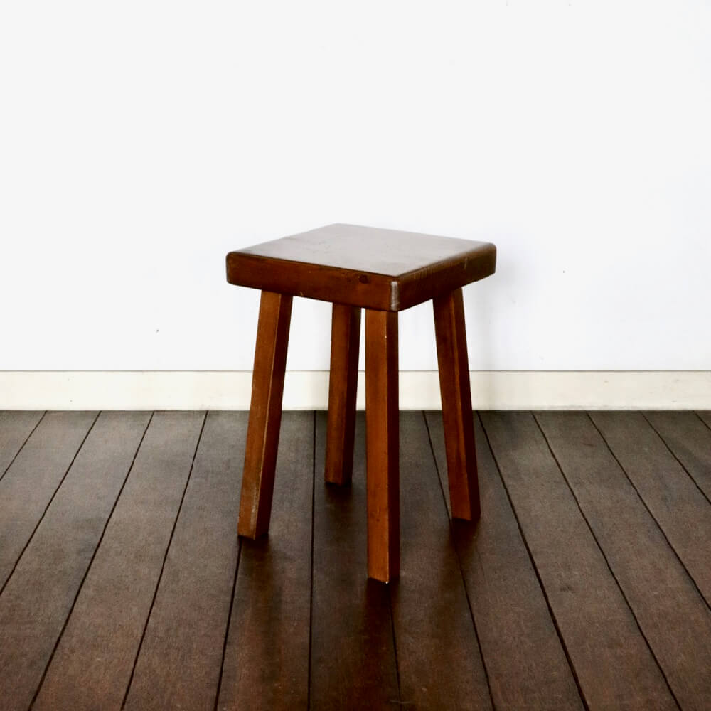 Charlotte Perriand / Stool for Les Arcs 4_legs