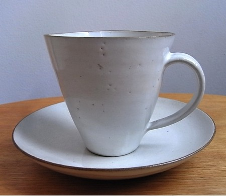 Lucie Rie & Hans Coper / Conical Cup&Saucer