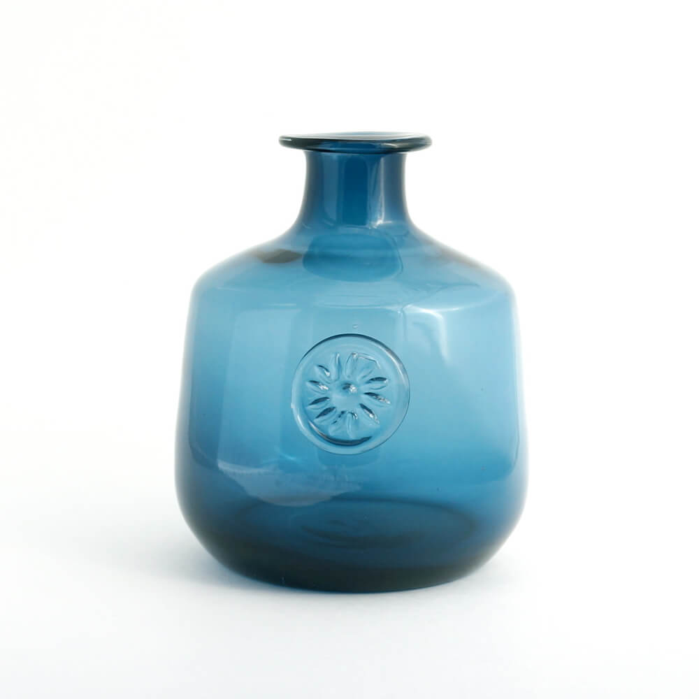 Anonymous/Glass Vase/Blue Flower