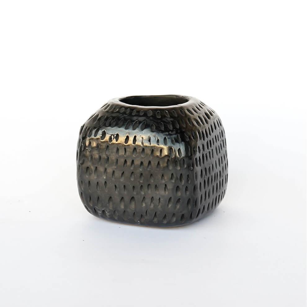 Doña Rosa/Barro Negro/Vase/Cube