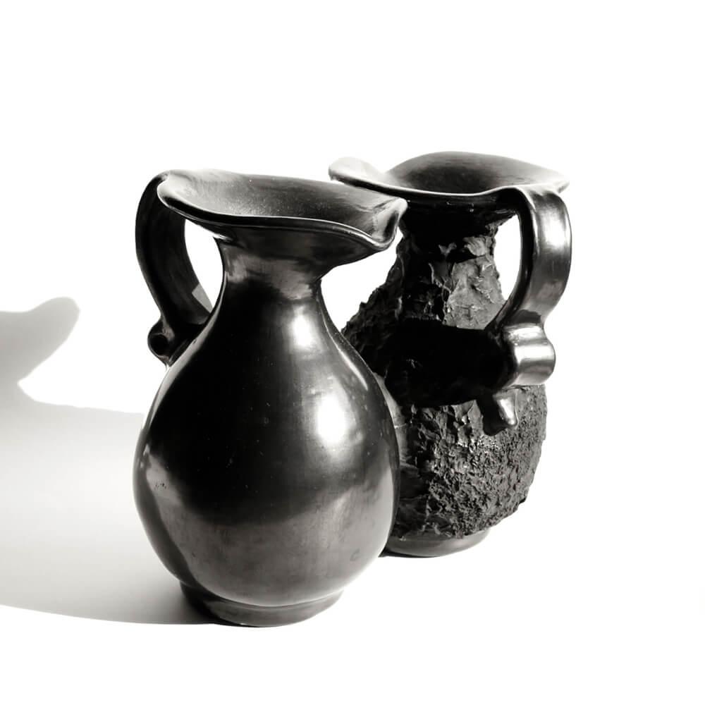 Doña Rosa/Barro Negro/Double Vase