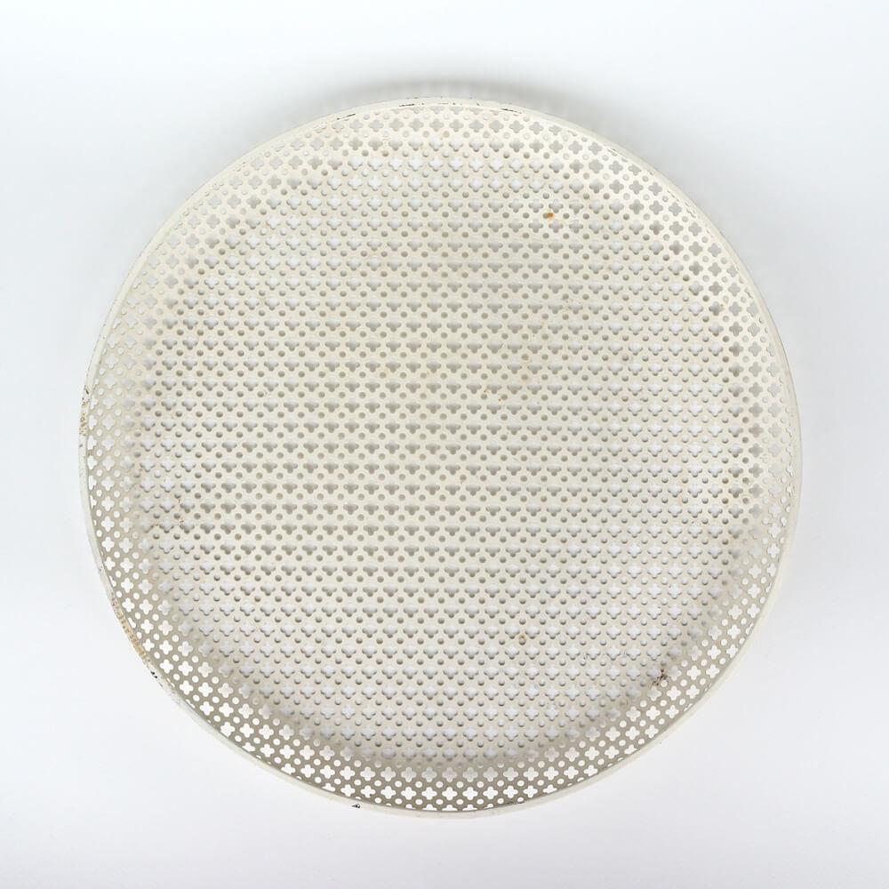 Mathieu Mategot / Round Tray / White