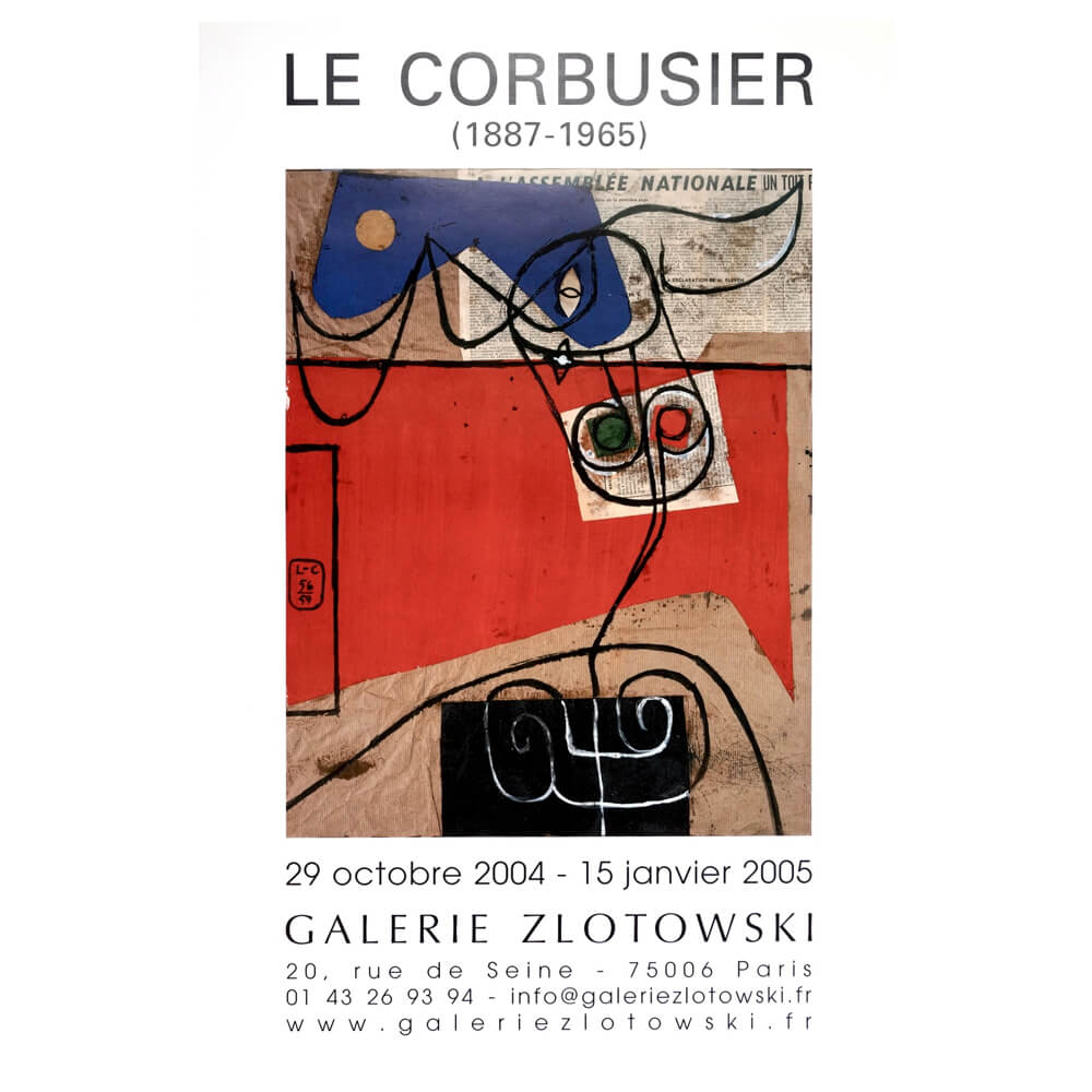 Galerie  Zlotowski /  Le Corbusier 1887-1965 /D