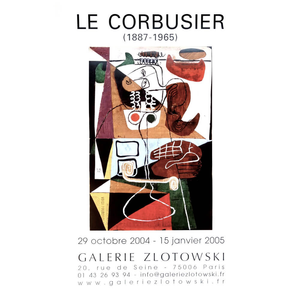 Galerie  Zlotowski /  Le Corbusier 1887-1965 /C