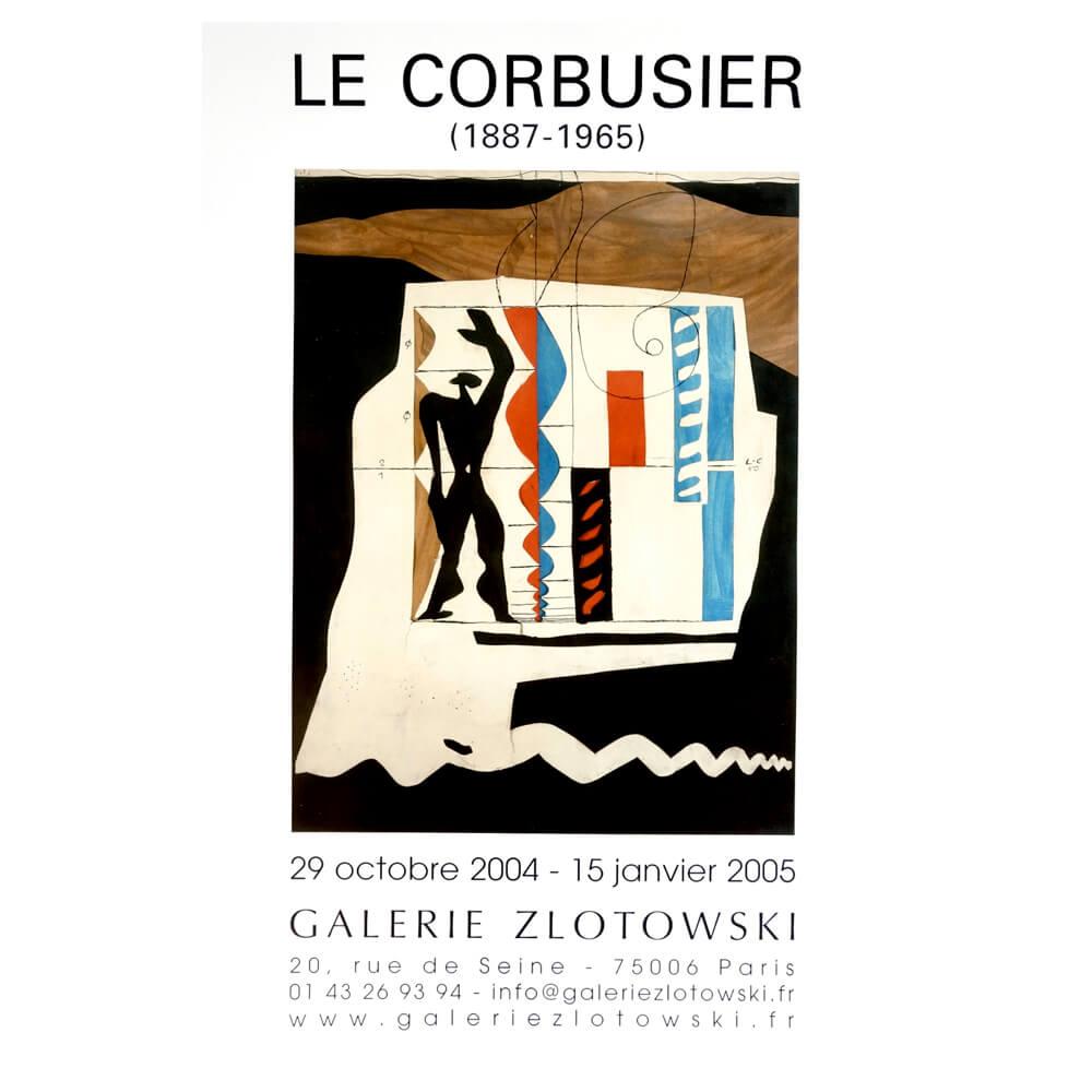 Galerie  Zlotowski /  Le Corbusier 1887-1965 /Modulor