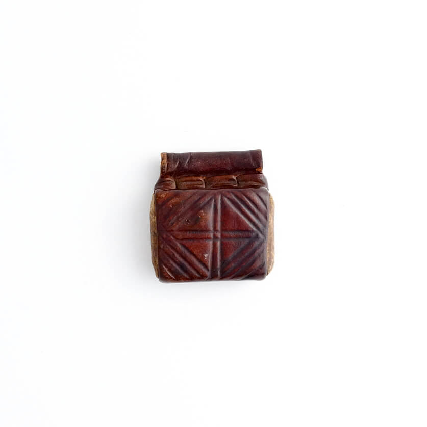Ethiopia/Leather Vintage Pendant Top/C