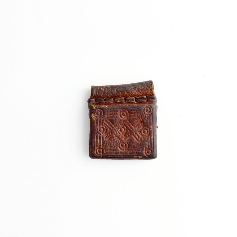 Ethiopia/Leather Vintage Pendant Top/B