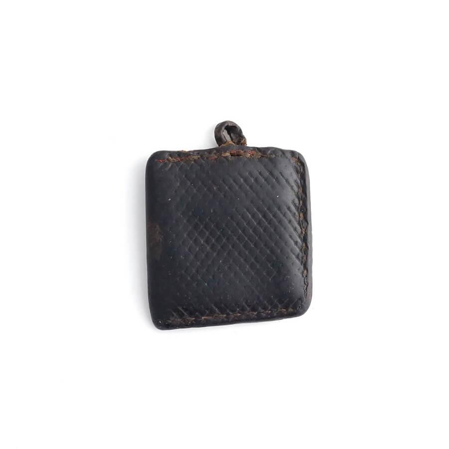 Ethiopia/Leather Vintage Pendant Top/A