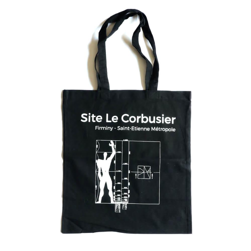 tote bag / Site Le Corbusier / Modulor_Black