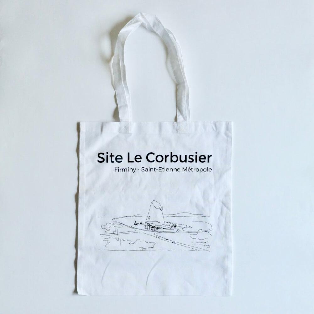 tote bag / Site Le Corbusier / Firmini_white