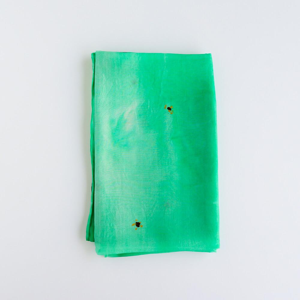 Melanie Decourcey/Silk Scarves/Rectangle XI