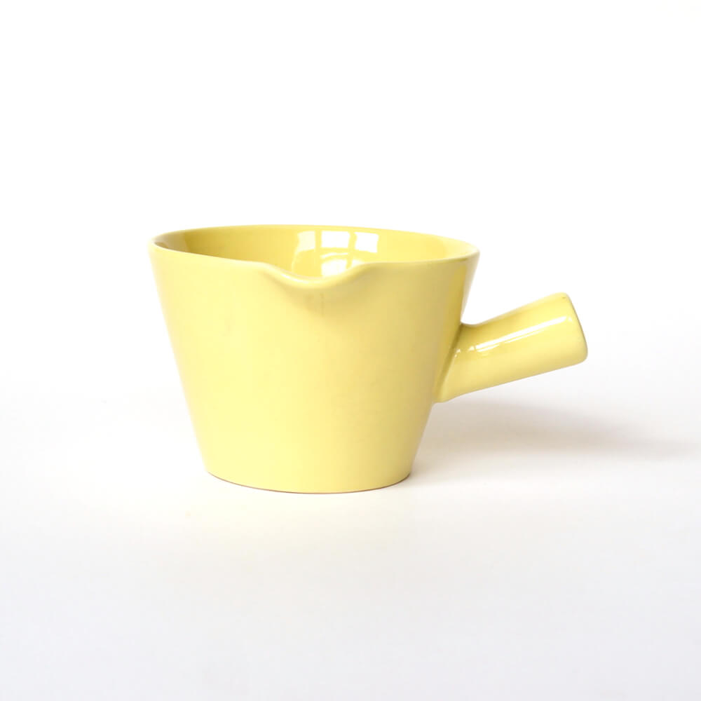 Kaj Franck/KILTA/Bowl with handle/Yellow