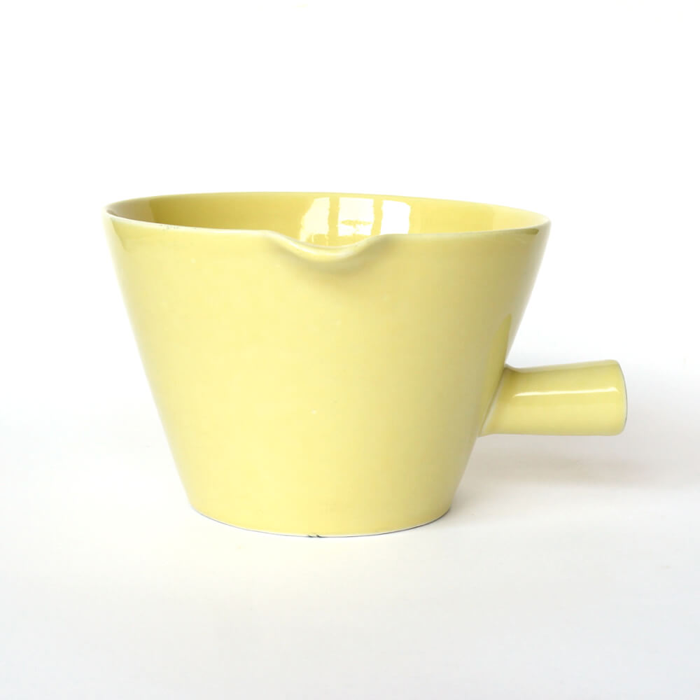 Kaj Franck/KILTA/Bowl with handle (L)/Yellow