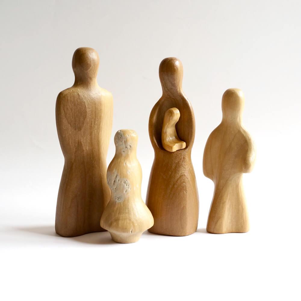 Antonio Vitali / Wooden toys/家族