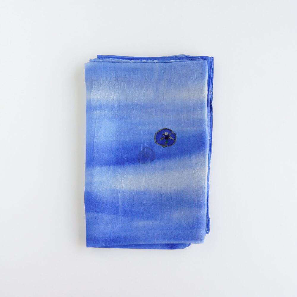 Melanie Decourcey/Silk Scarves/Rectangle XV