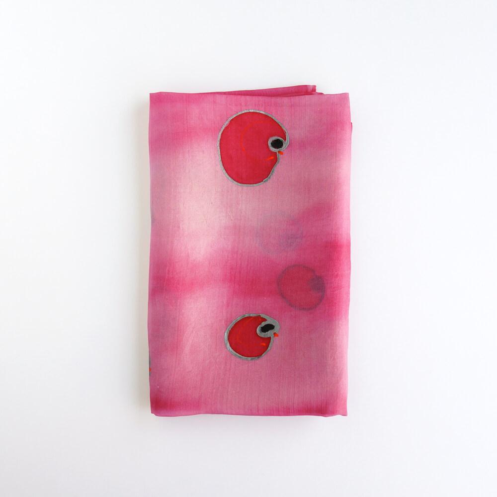 Melanie Decourcey/Silk Scarves/Rectangle XIII