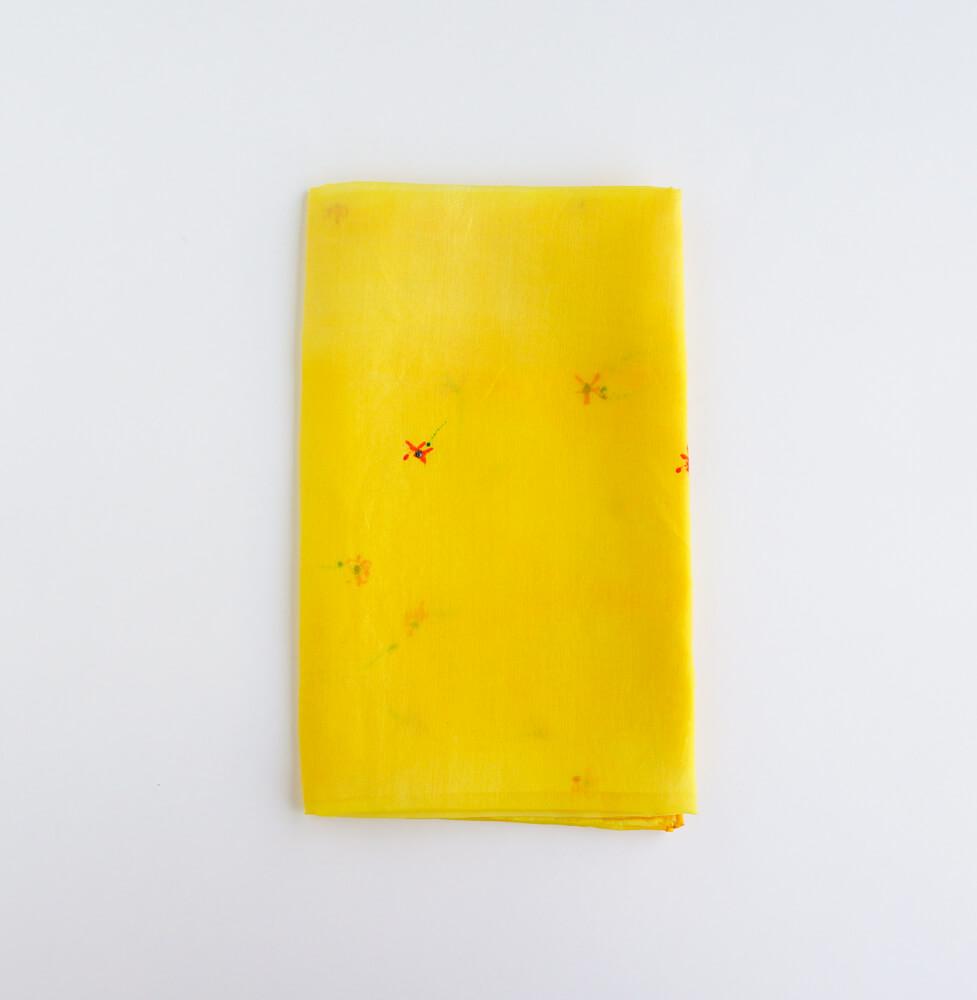 Melanie Decourcey/Silk Scarves/Rectangle XII
