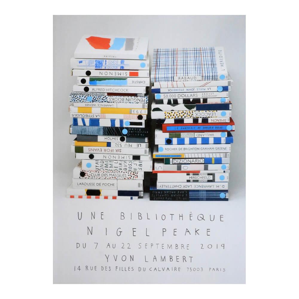 Nigel Peake / Exhibition poster