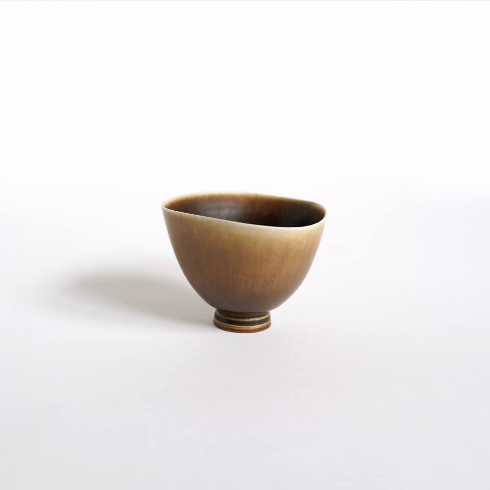 Berndt Friberg / Gustavsberg / Bowl / Light Brown