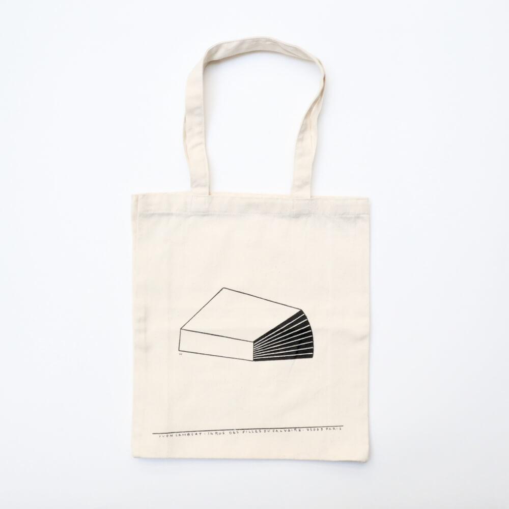 tote bag / Yvon Lambert x フィリップ・ワイズベッカー