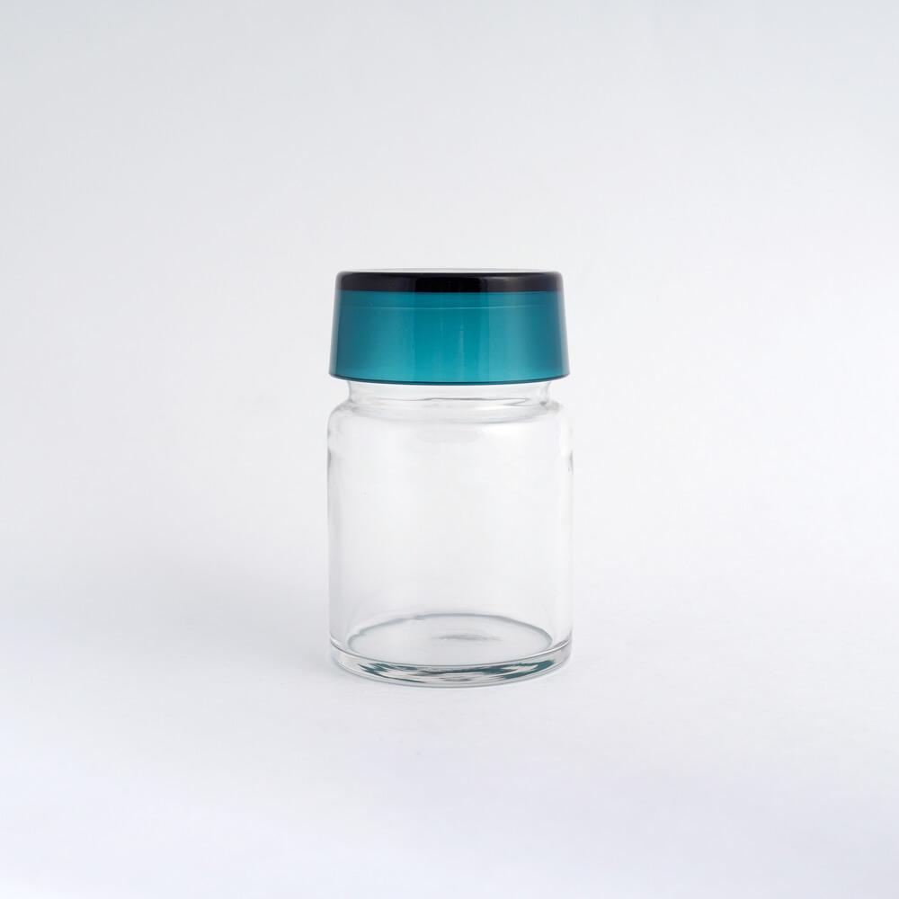 Saara Hopea/Nuutajarvi/Spice Jar#1931_Turquoise