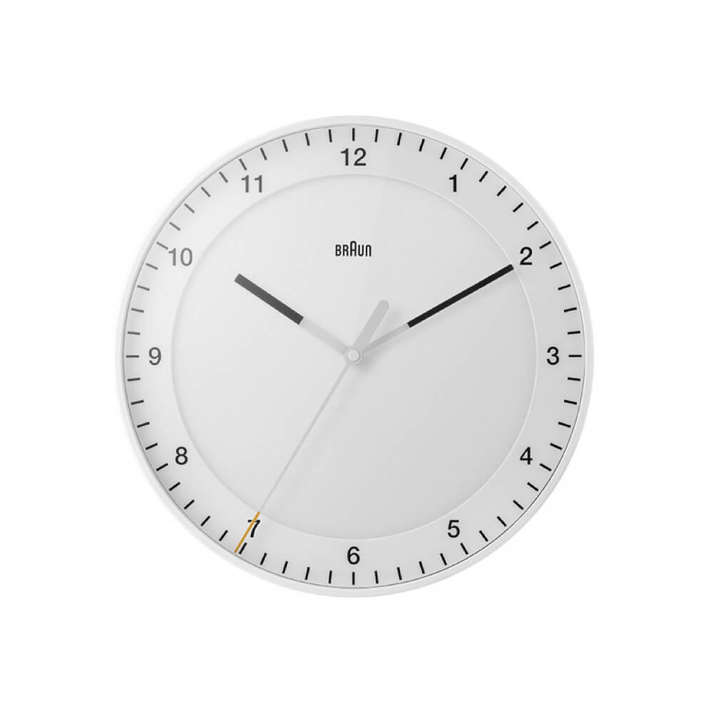 BRAUN / Wall Clock BC17 / White