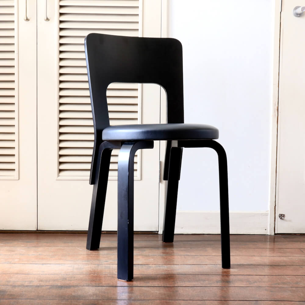 Alvar Aalto/ Chair No.66 /Black