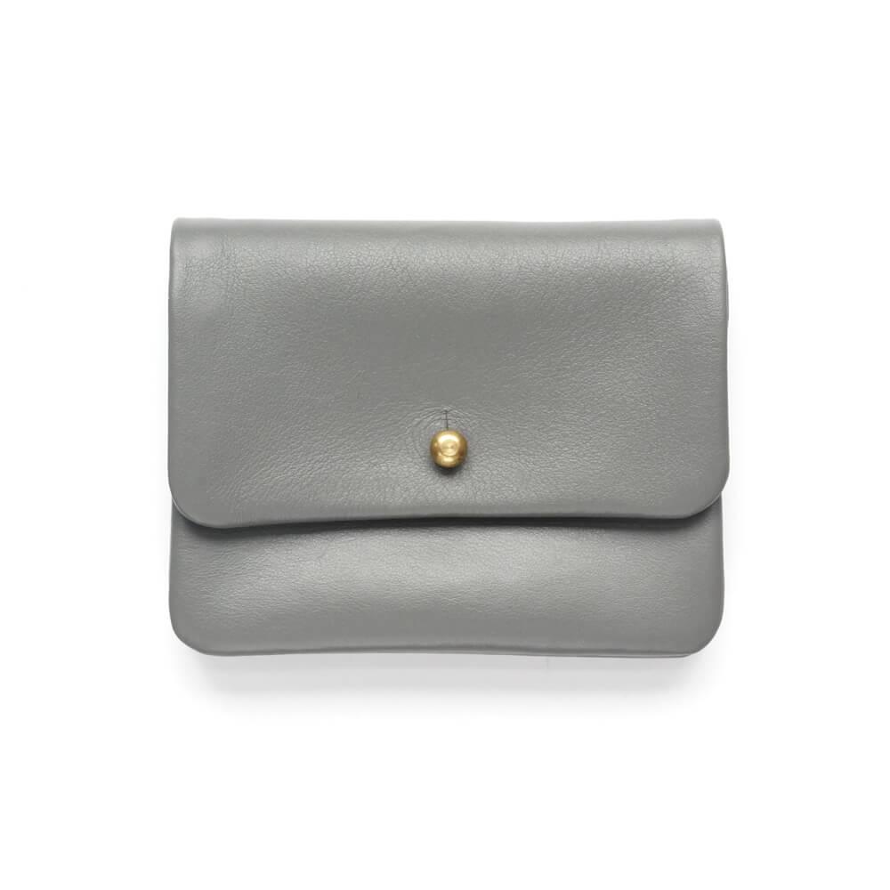 Alice Park/Half Single Flap Wallet/Gray