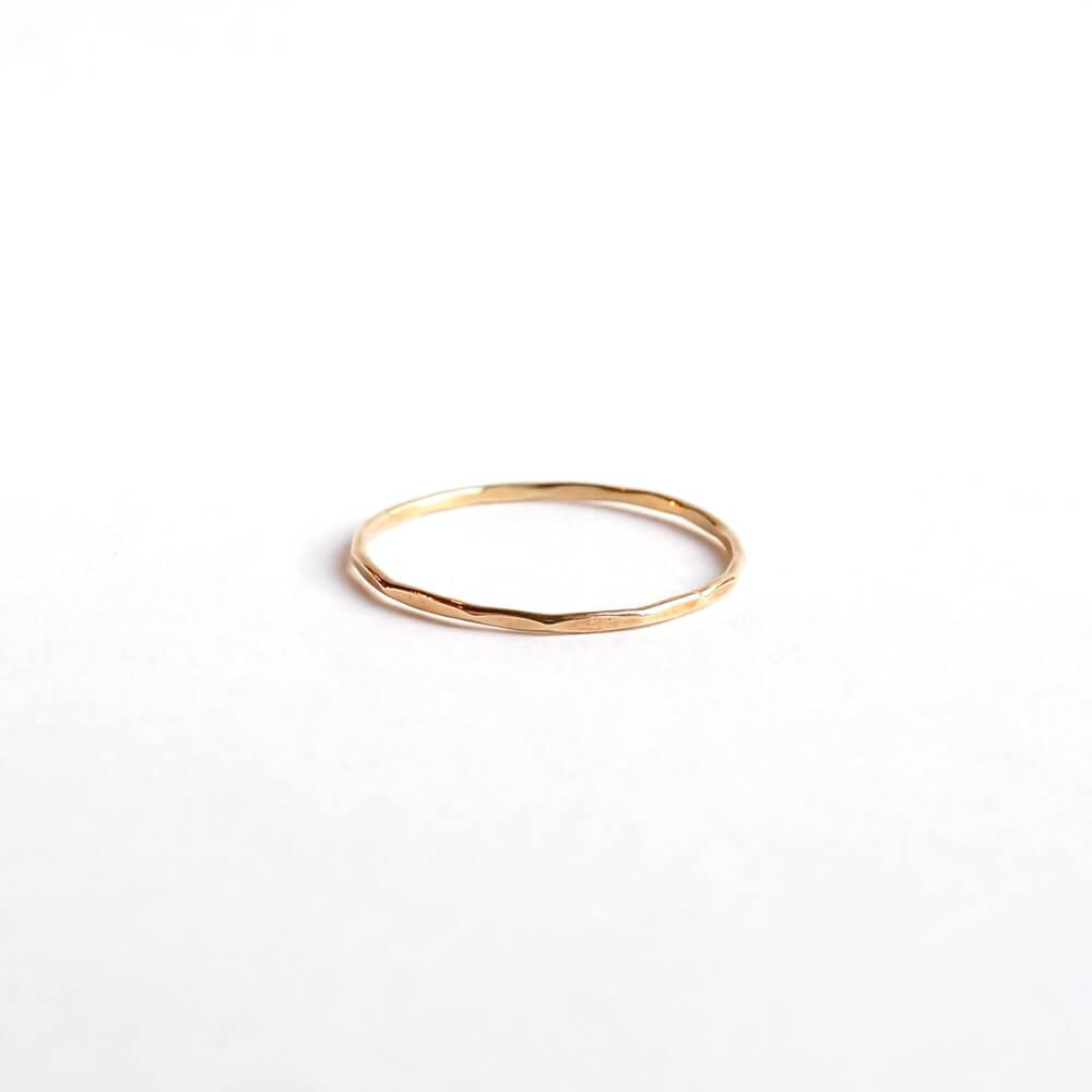 Melissa Joy Manning/Gold Stacking Rings/Yellow Gold(11.5号)