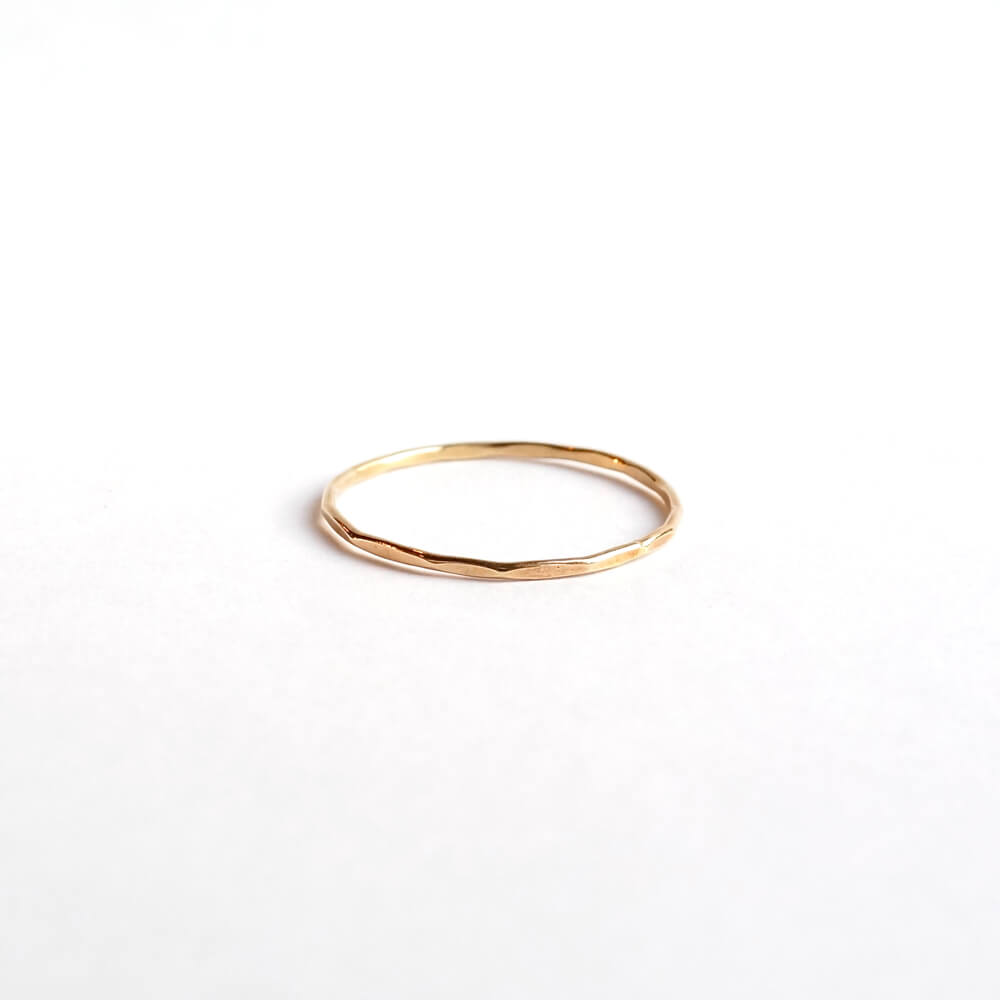 Melissa Joy Manning/Gold Stacking Rings/Yellow Gold(9号)