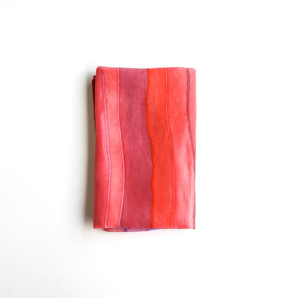Melanie Decourcey/Silk Scarves/Rectangle XXII